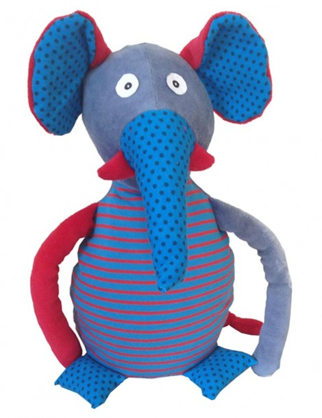 Peluche Elephant Patchwork 30 cm On chuchote -
