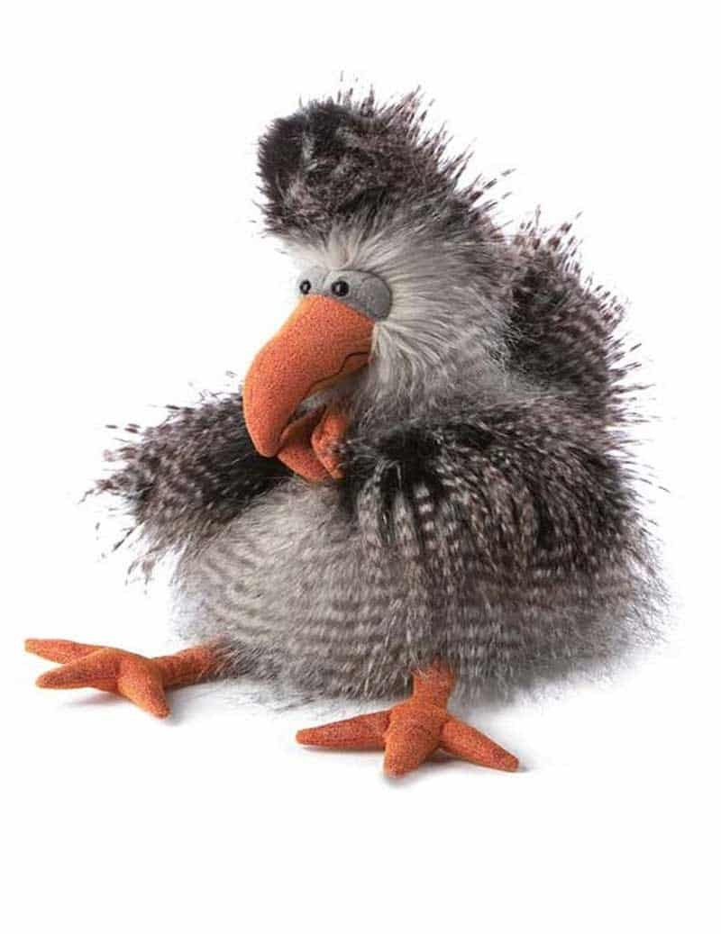 Peluche Poule Grise Cheerio Chicken 30 cm Beasts -