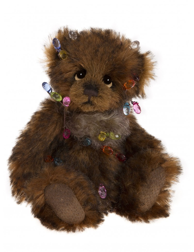 Petit Ours Brun Dec the Halls 17 cm Charlie Bears -