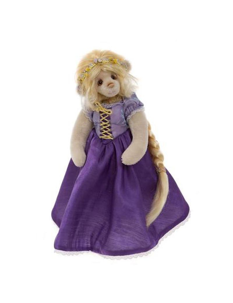 Ours de collection Isabelle Lee Rapunzel 29 cm