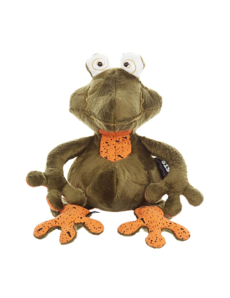 Peluche grenouille originale Frog Doc Collection Beasts Sigikid 35 cm -
