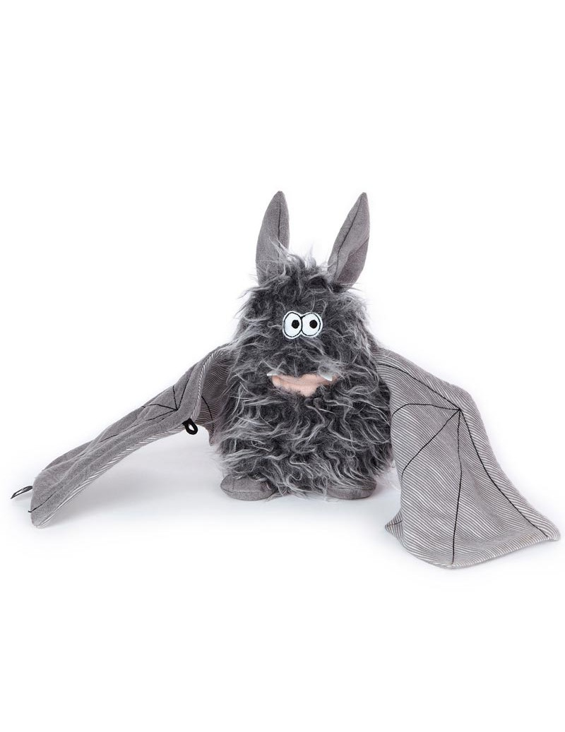 Peluche chauve souris Battery Bat Beasts Sigikid 13 cm -