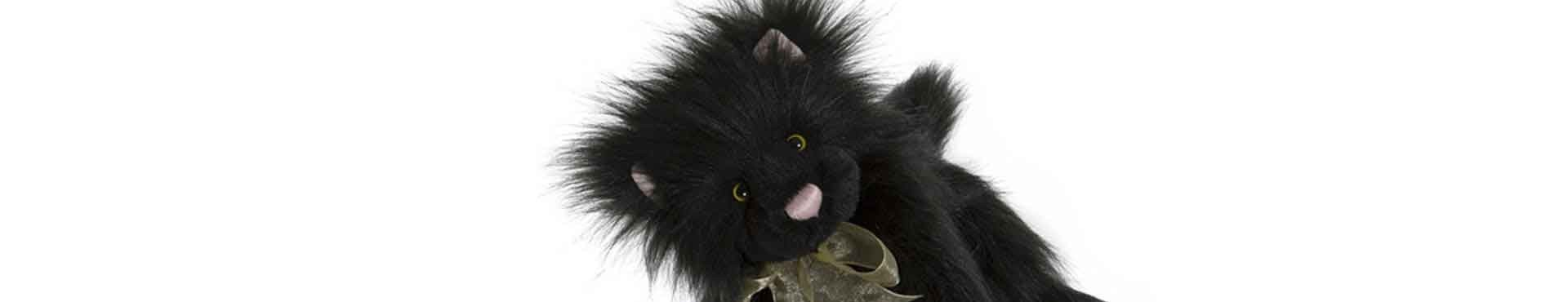Peluche Chat et Doudou chat
